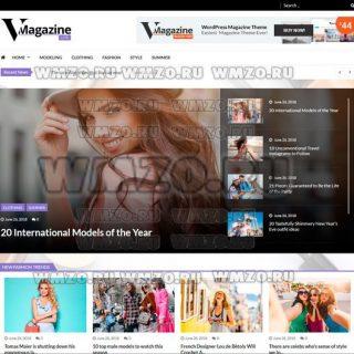 VMagazine Lite – Адаптивная тема WordPress