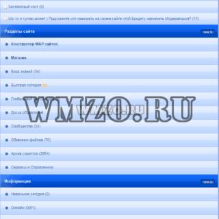 Бекап конструктора сайтов 1wm.su